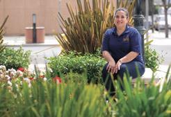 Maria de la Fuente (photo by Nick Lovejoy, pinnaclenews.com)